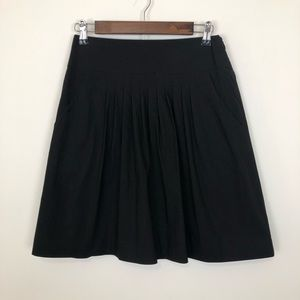 Theory dressy casual pleated aline skirt pockets 4